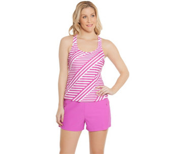 Ocean Dream Signature Stripe Play Tankini Swimsuit - A273960