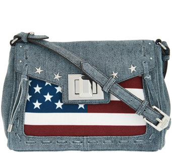 Aimee Kestenberg Leather Flag Crossbody - Washington - A275860