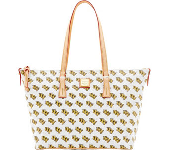 Dooney & Bourke NCAA University of Central Florida Zip Top Shopper - A283260