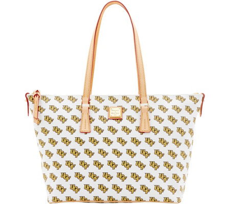 Dooney & Bourke NCAA University of Central Florida Zip Top Shopper