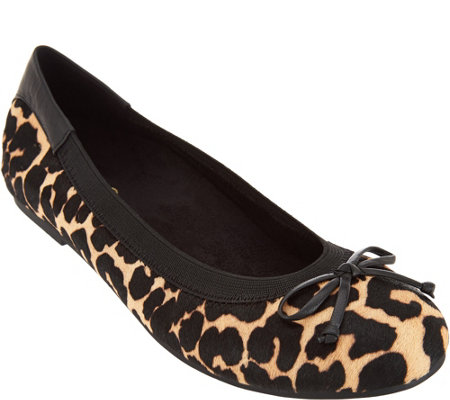 Vionic Orthotic Haircalf Ballet Flats - Matira