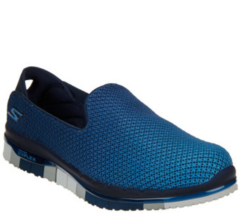 """As Is"" Skechers Go Flex Ombre Mesh Slip-ons - Lotus - A290860"
