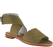 ED Ellen DeGeneres Leather or Suede Sandals - Sanja - A291060