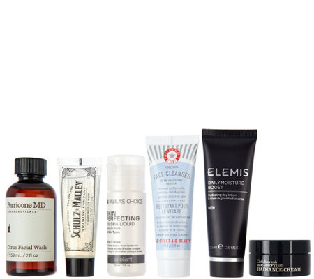 QVC Beauty Men's 6-piece Sampling Collection