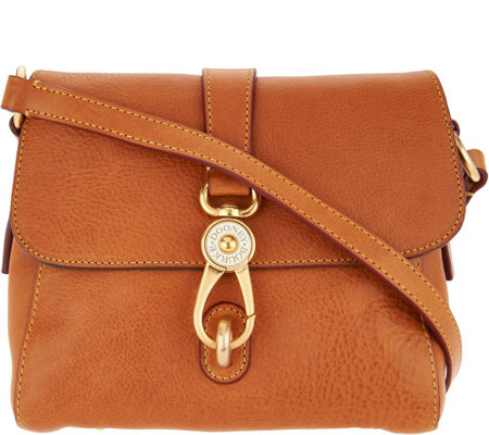Dooney & Bourke Florentine Leather Small Ashley Messenger Bag