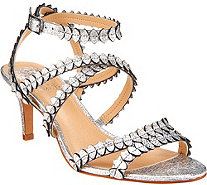 Vince Camuto Leather Multi Strap Sandals - Yuria - A306360
