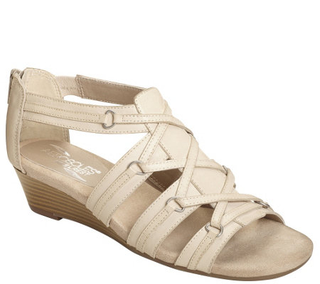 Aerosoles Wedge Sandals - Yetiquette