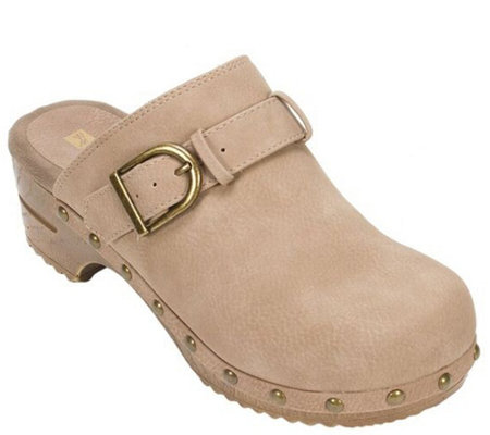 White Mountain Open Back Clogs - Benita