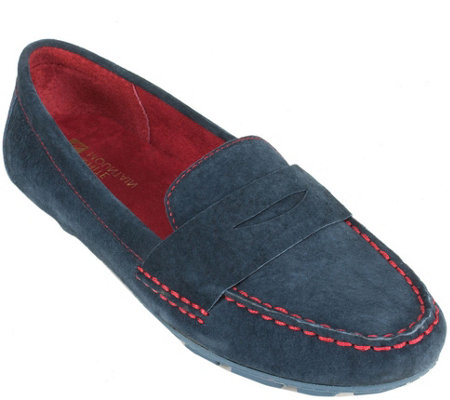 White Mountain Leather Moccasins - Skipper