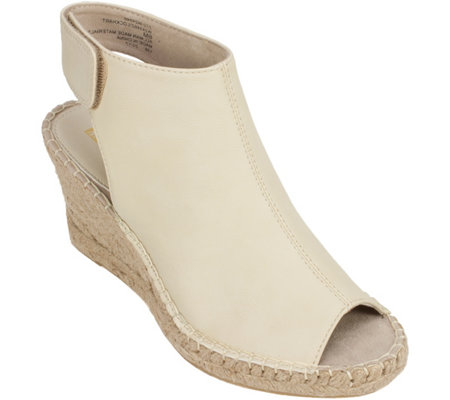 White Mountain Open Toe Espadrilles - Lockhart