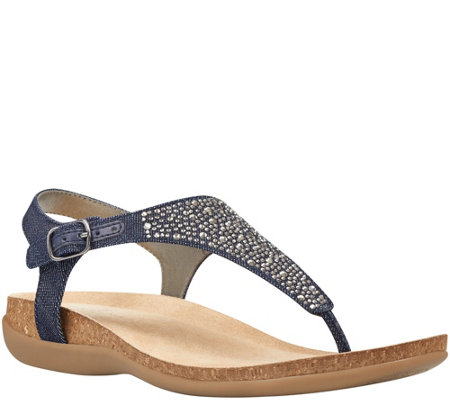 Bandolino Casual Thong Sandals - Hereby