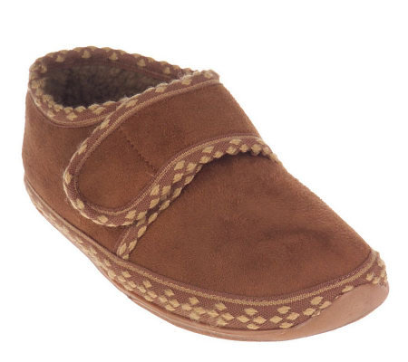 Deer Stags SLIPPEROOZ Indoor/Outdoor Hook & Loop Top Slippers