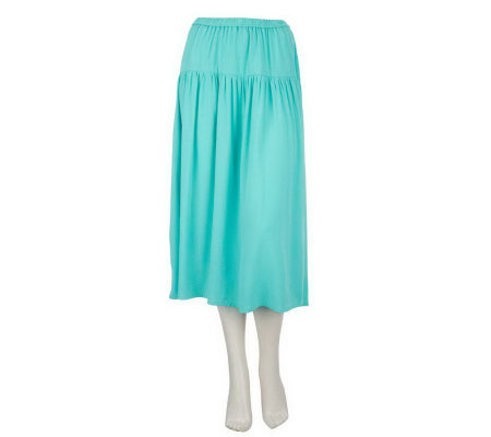 Linea by Louis Dell'Olio Pull-on Boho Skirt
