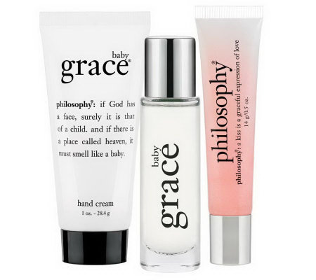 philosophy grace to go 3 piece collection