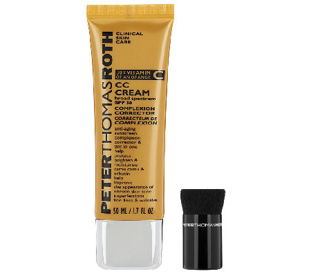 Peter Thomas Roth CC Cream with Brush, SPF 30