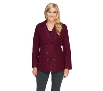 Linea by Louis Dell'Olio Double Breasted Peacoat - A259261