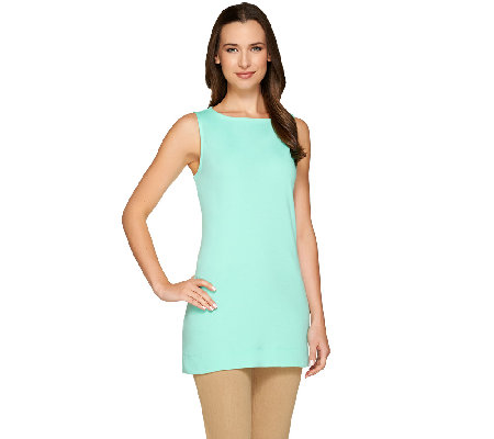 Liz Claiborne New York Essentials Sleeveless Tunic