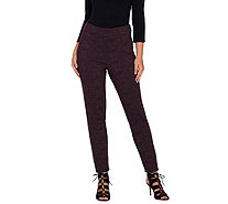 Styled by Joe Zee Printed Knit Pants - A268561