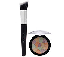 Laura Geller Filter Finish Radiance Setting Powder with Brush - A275261