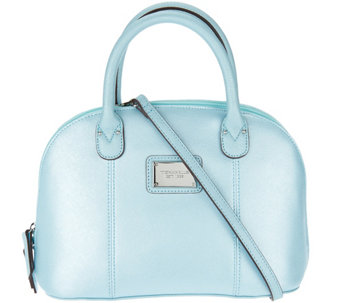 Tignanello Saffiano Leather RFID Domed Satchel - A279961