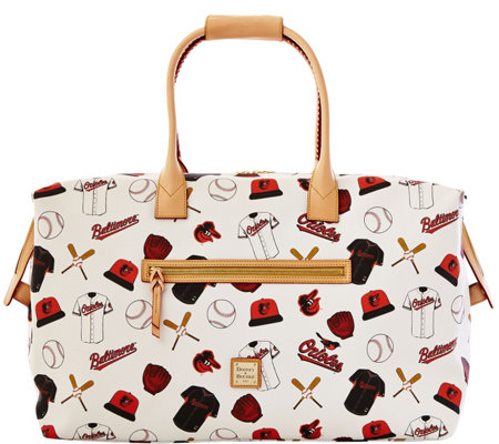 Dooney & Bourke MLB Orioles Duffel Bag
