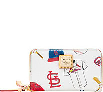 Dooney & Bourke MLB Cardinals Zip Around Phone Wristlet - A280861