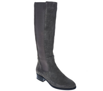 """As Is"" H by Halston Gored Tall Shaft Boots - Naomi - A281061"