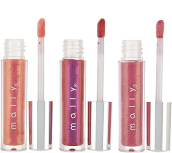 Mally Liquid Light Lustrous Lip Gloss Trio - A281961