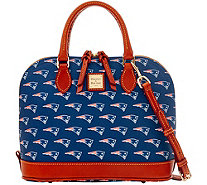 Dooney & Bourke NFL Patriots Zip Zip Satchel - A285761