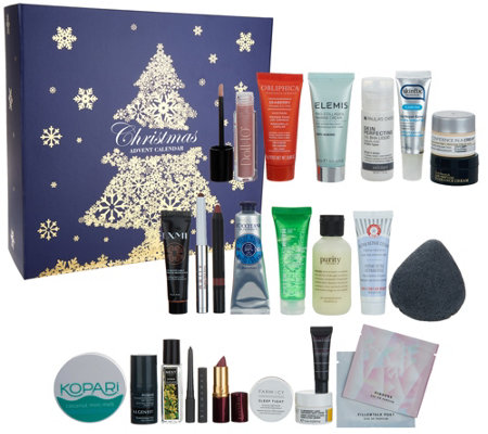 QVC Beauty Christmas Advent Calendar 24-piece Kit