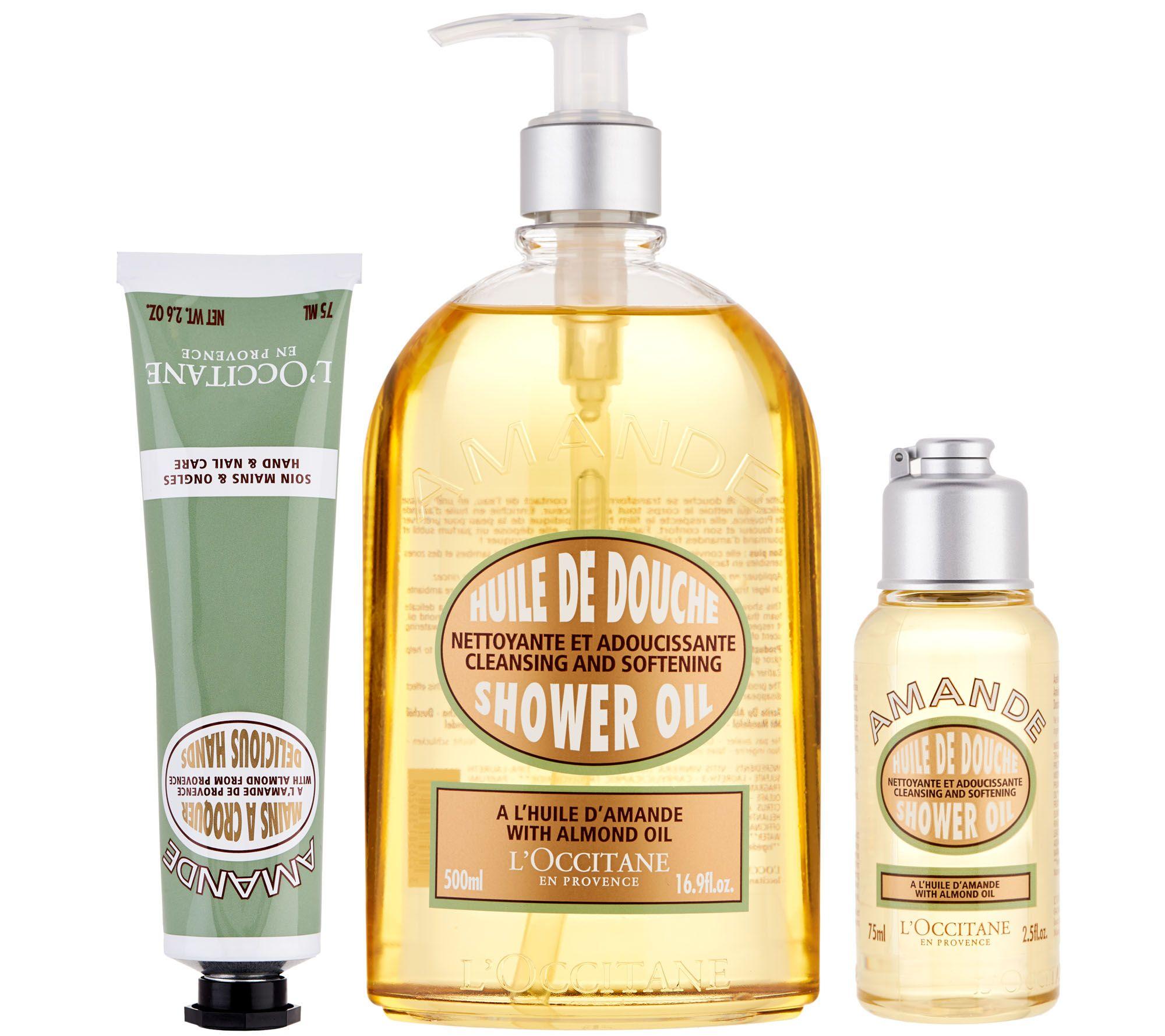 L'Occitane Almond Shower Gel & Hand Cream 3-pc. Set - Page 1 — QVC.com