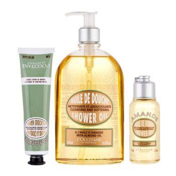 L'Occitane Almond Shower Gel & Hand Cream 3-pc. Set