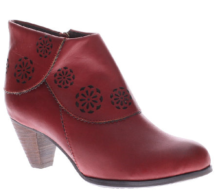 Spring Step L'Artiste Leather Ankle Boots - Linguette