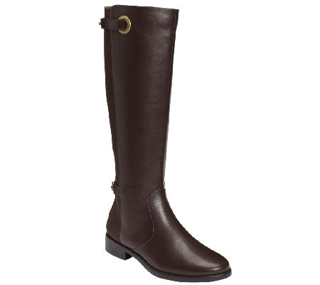 Aerosoles Extended Calf Riding Boots - One Wish