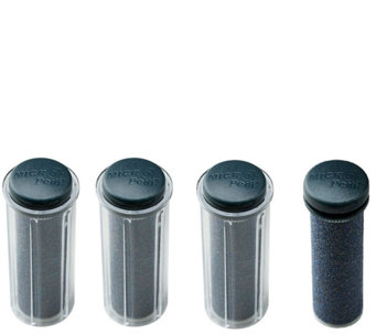 Emjoi Micro-Pedi Choice of Strength Refill Rollers / Set of 4 - A334961