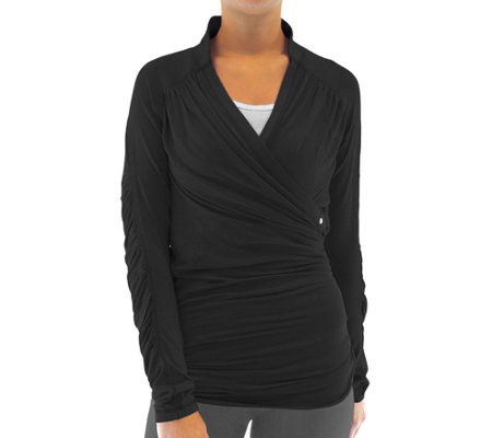 Ryka Knit Essence Long-Sleeved Wrap