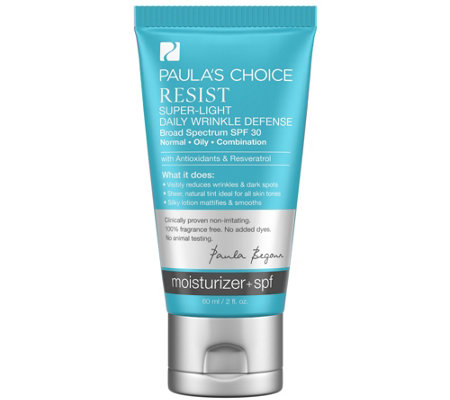 Paula's Choice Super-Light Daily WrinkleDefense SPF 30