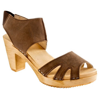Cape Clogs Leather Sandals - Sonja - A340661