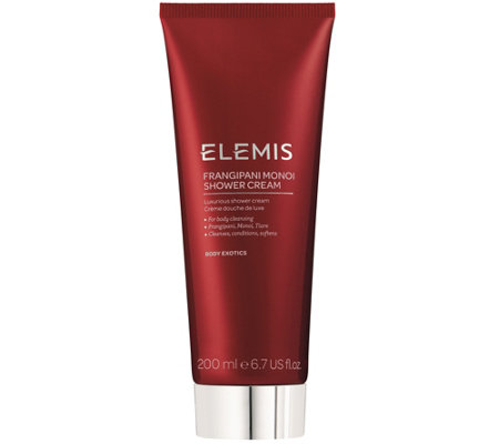 ELEMIS Frangipani Monoi Shower Cream, 6.7 fl oz