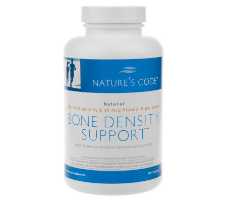 Nature's Code 180 Day Healthy Bone Density Support Formula