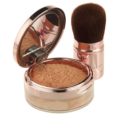 bareMinerals Brightening Pearl Mineral Veil with Brush