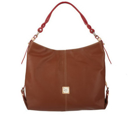 Dooney & Bourke Genuine Leather Sac with Ring Hardware