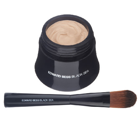 Edward Bess Black Sea Mousse Foundation with Brush