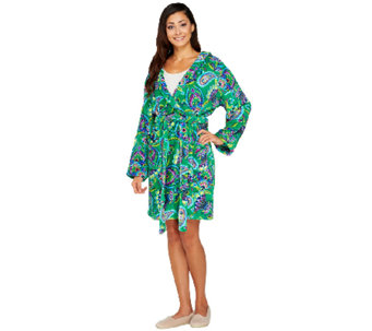 Vera Bradley Hooded Fleece Robe - A261962