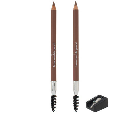 Laura Geller Brow Marble Pencil Duo with Sharpener Auto-Delivery
