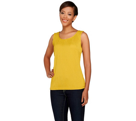 Joan Rivers Textured Knit Tank