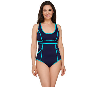 Spanx Hourglass Racerback Swimsuit - A263562
