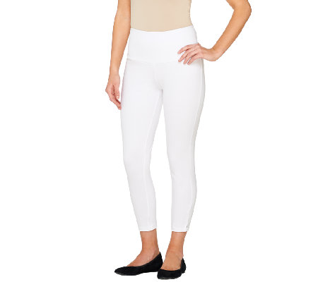 Women with Control Petite Tummy Control Crop Leggings
