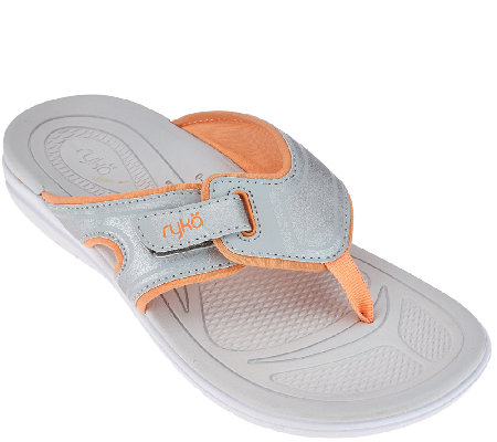Ryka Sport Thong Sandals with CSS Technology - Shimmy