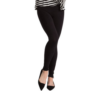 Spanx Seamless Leggings with Side Zip Detail - A266362